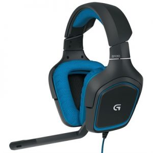 Logitech G430 Surround Sound Gaming Headset with Dolby 7.1 Technology (981-000538)