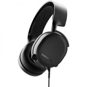 SteelSeries Arctis 3 (2019 Edition) All-Platform Wired Gaming Headset – Black – 61503 –