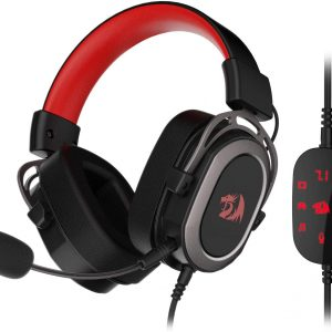 Redragon H710 Helios Wired Gaming Headset – 7.1 Surround Sound
