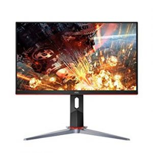 AOC 24G2 24″ Frameless Gaming IPS Monitor FHD 1ms 144Hz Freesync