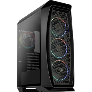 Aerocool Aero One Eclipse Tempered Glass Edition ARGB Mid Tower Chassis