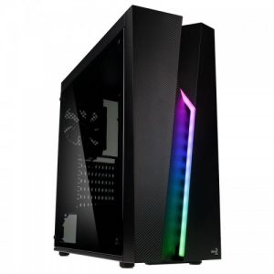 Aerocool Bolt Glass Edition ARGB Mid Tower Chassis