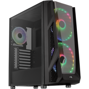 Aerocool NightHawk Duo Tempered Glass Edition ARGB Mid Tower Chassis