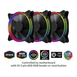 1st player FIRE BASE G3 120mm RGB Cooling Kit