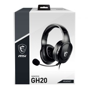 MSI IMMERSE GH20 GAMING HEADPHONE